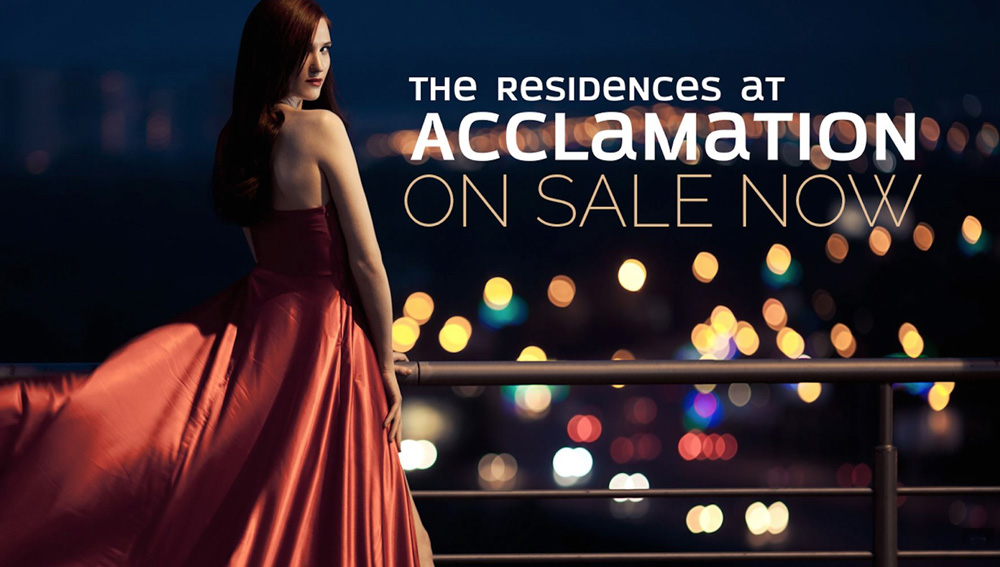 the residences at Acclamation
